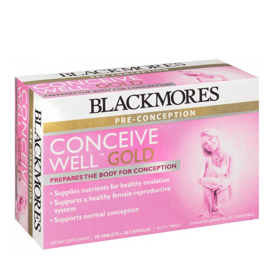 Kinh nghiệm uống Blackmores Conceive Well Gold
