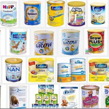 Top các loại sữa bột trên thị trường bán chạy nhất Việt Nam