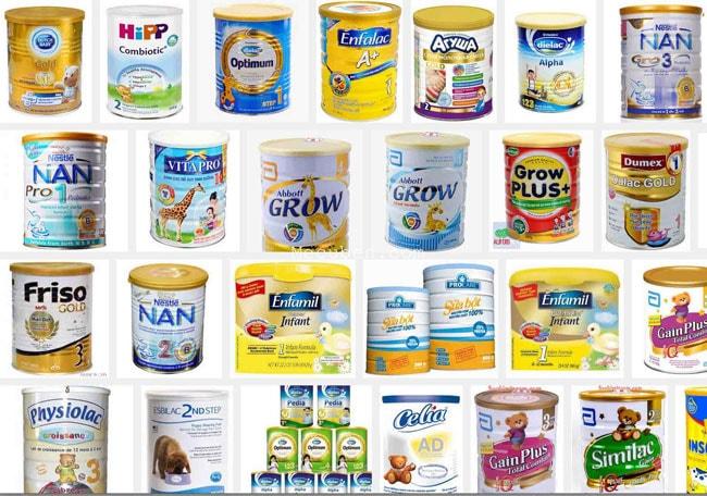 Top các loại sữa bột trên thị trường bán chạy nhất Việt Nam 1