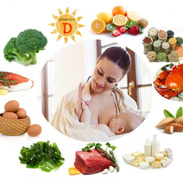 Sau sinh ăn gì tốt cho mẹ và bé