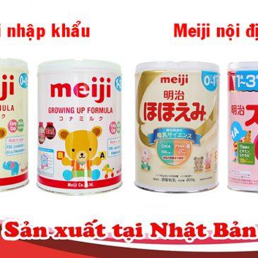 Nên mua sữa Meiji nội địa, đi Container hay đi air khác nhau thế nào ?!