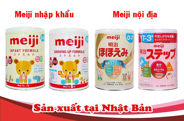 Nên mua sữa Meiji nội địa, đi Container hay đi air khác nhau thế nào ?! 1